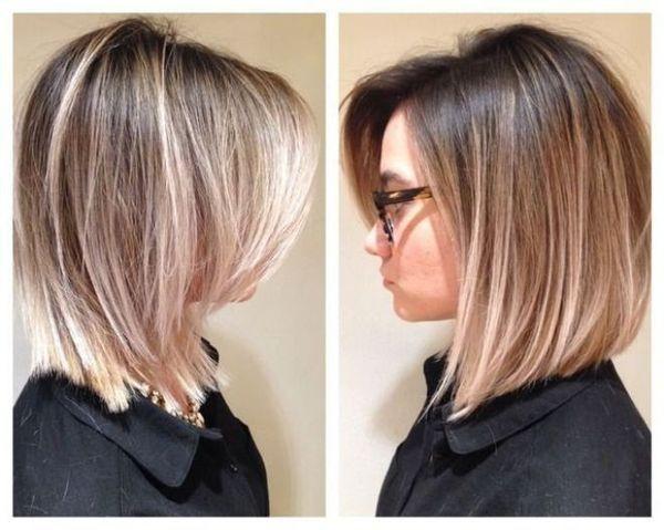 Шатуш на каре на темные и светлые волосы с фото
