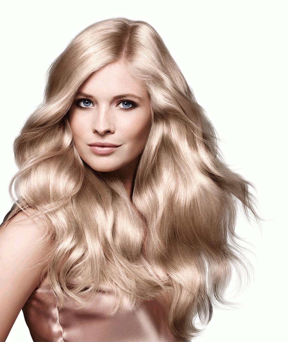 Бежевый блонд на рыжие волосы