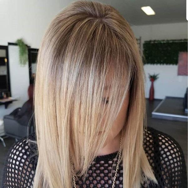 Мелирование на русые волосы: фото до и после
