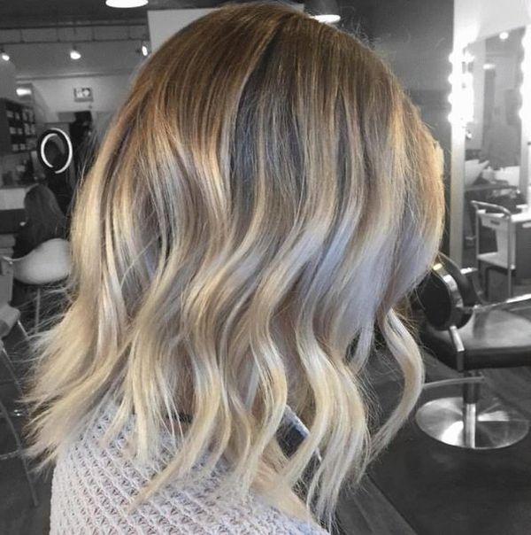 на осветленные и обесцвеченные волосы