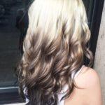 Омбре на блонд – 23 фото, что это такое, виды и самые модные оттенки: пепельный, розовый, фиолетовый
