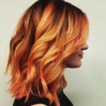 Шатуш на рыжие волосы – фото до и после, цена, плюсы и минусы, подходящие оттенки и прически