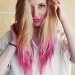 Омбре с розовым оттенком – 28 фото на блонд, черные и русые волосы, каре и другие модные прически