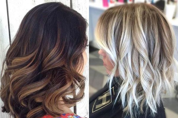 Окрашивание балаяж на русые волосы с фото и видео