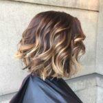 Балаяж на темные волосы каре – фото до и после, подходящие виды и цвета