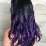 Окрашивание балаяж на темные длинные волосы – техника, как делать, цены и фото до и после