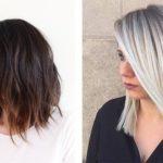 Омбре на средние волосы – плюсы и минусы, фото до и после, кому идет и ТОП 13 лучших техник