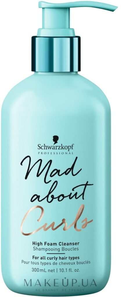 Mad About Curls High Foam Cleanser Shampoo,
