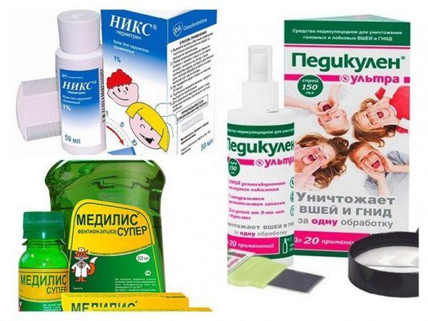 Cредства от вшей и гнид для детей за один день избавляющие от педикулеза