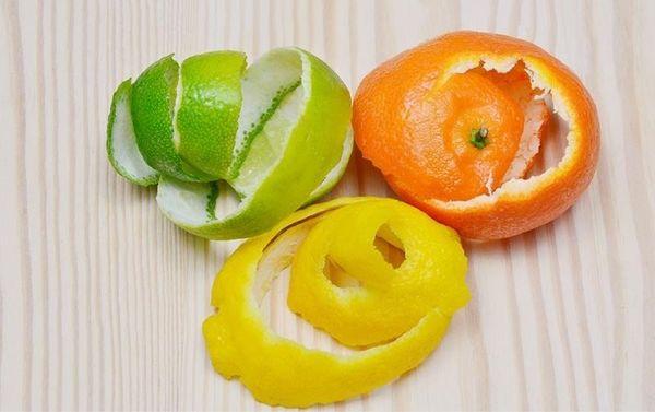 кожица цитрусовых фруктов