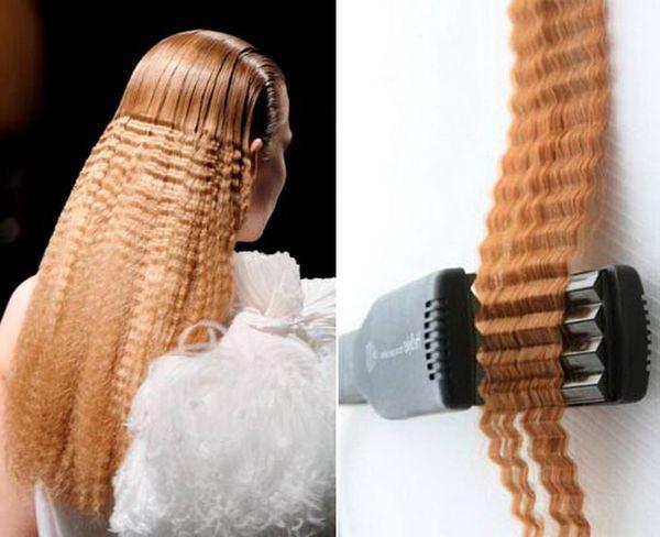 Как правильно делать гофре на волосах