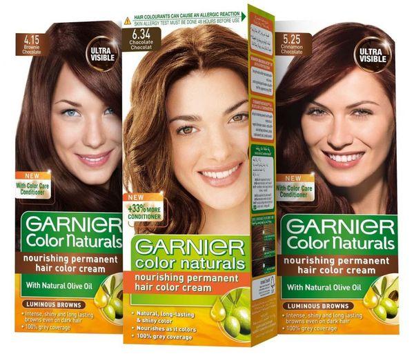 Гарнер краска для волос палитра