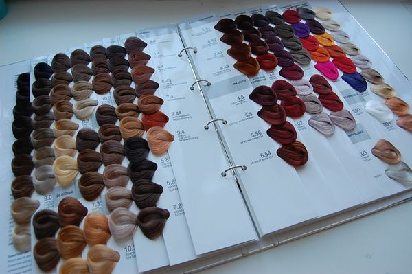 Краска капус для волос: палитра цветов по номерам, фото