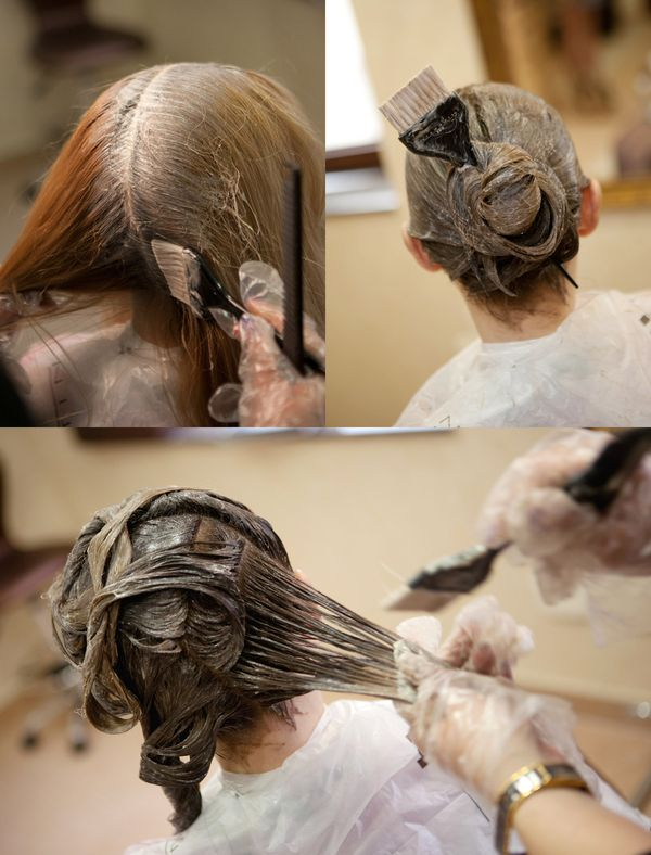 инструкция к окрашиванию волос