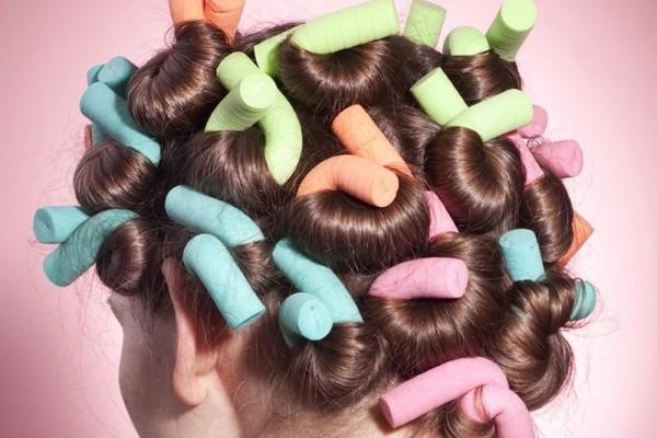 Как сделать бигуди на короткие волосы