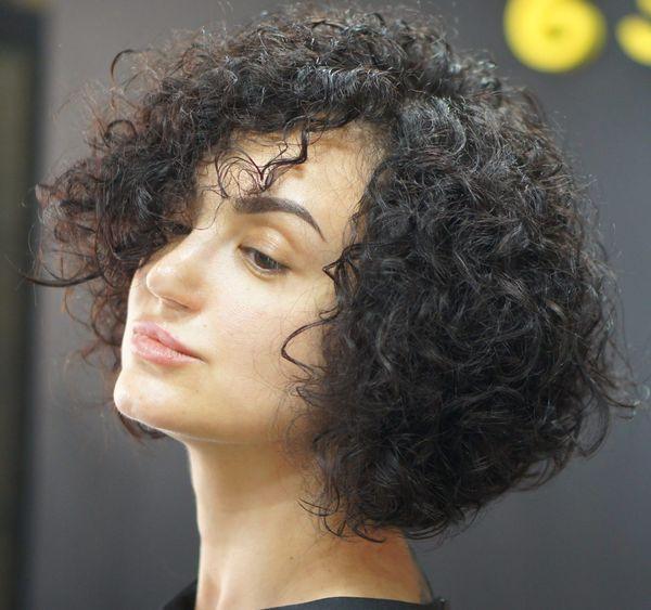 Японская завивка волос