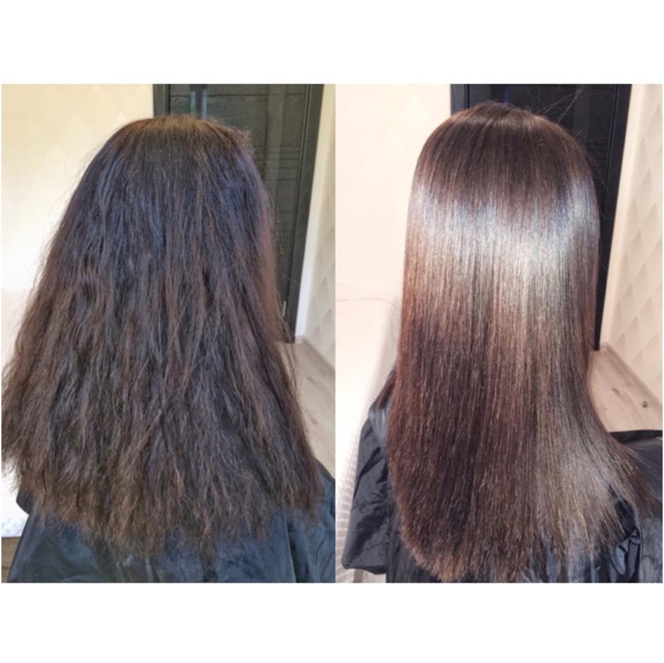 выполнит работу утюжок для волос до и после фото следствие