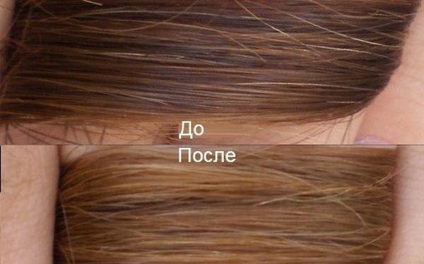 чтобы осветление волос ромашкой фото также