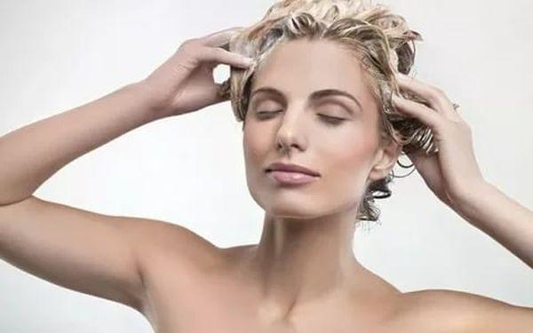 мытье осветленных волос