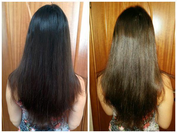 осветление черных волос