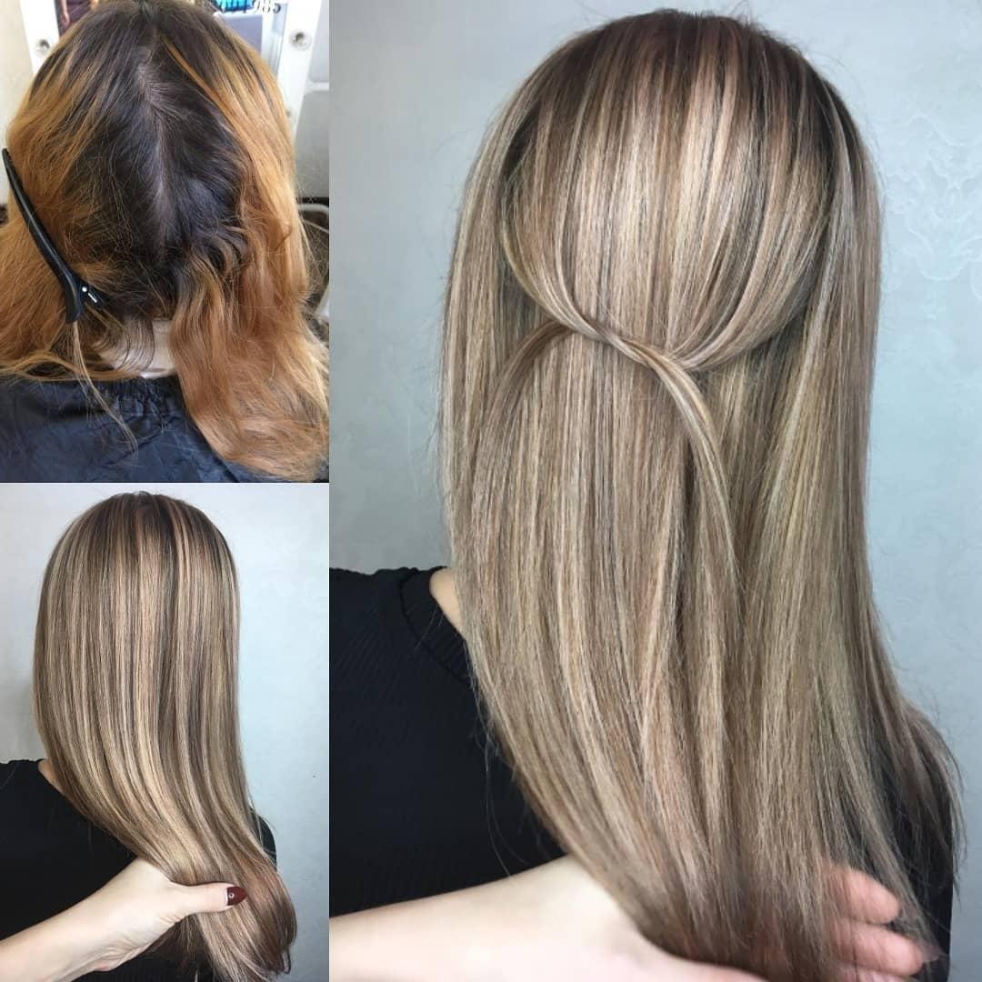 Отпали волосы после обесцвечивания