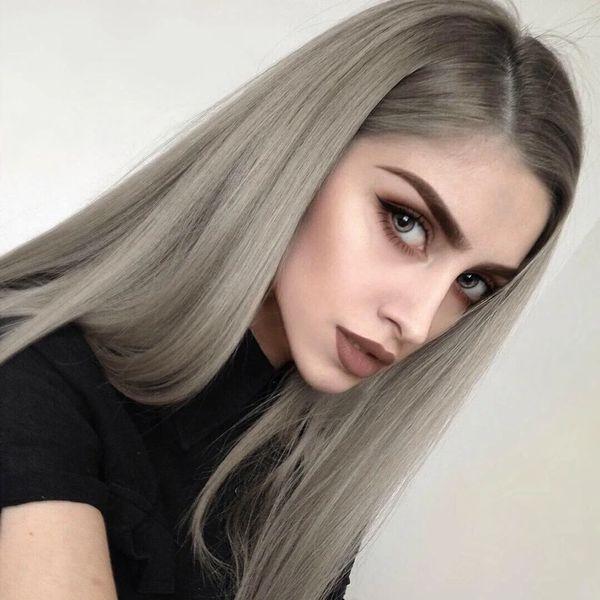зеленые глаза для пепельный цвет волосы