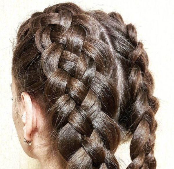 Квадратные косы