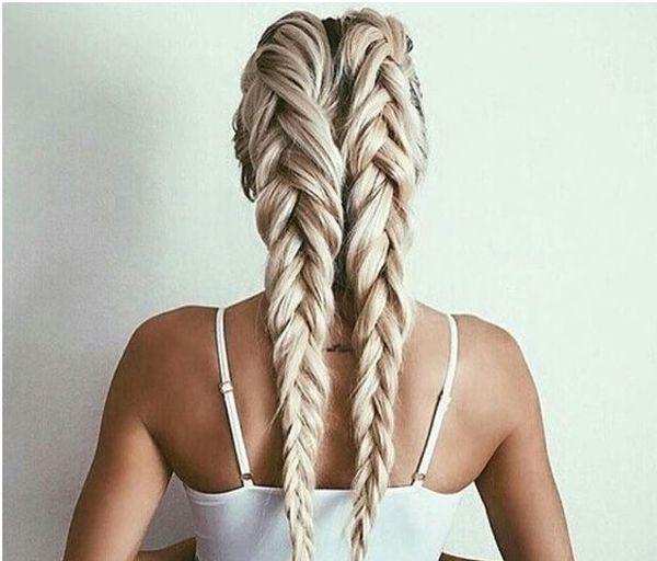 две косы прическа