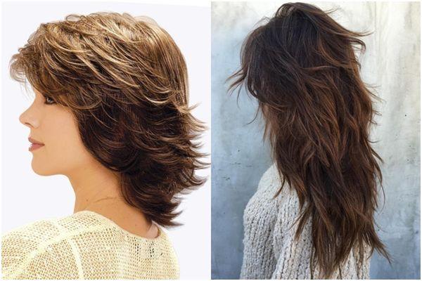 дебют на длинные волосы