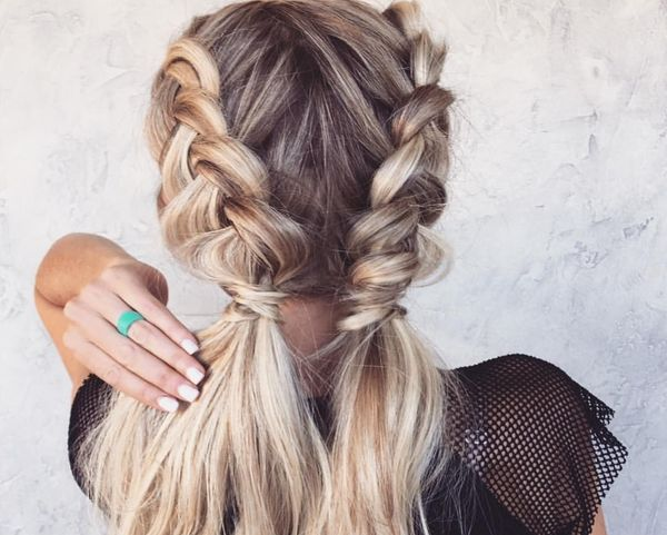 косы в бохо-стиле