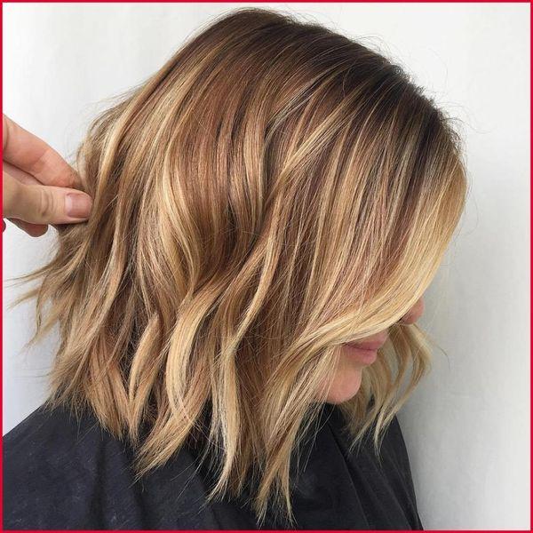 карамельное мелирование на короткие волосы