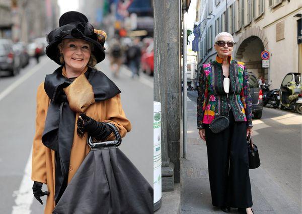 Экстравагантный стиль для женщин 45 лет