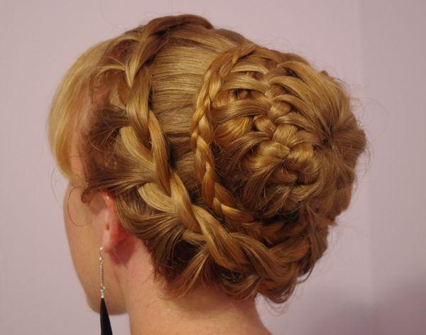 корзинка из кос