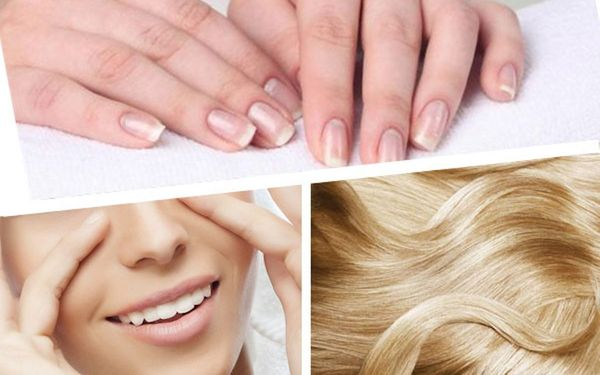 улучшения состояния кожи, ногтей и волос.