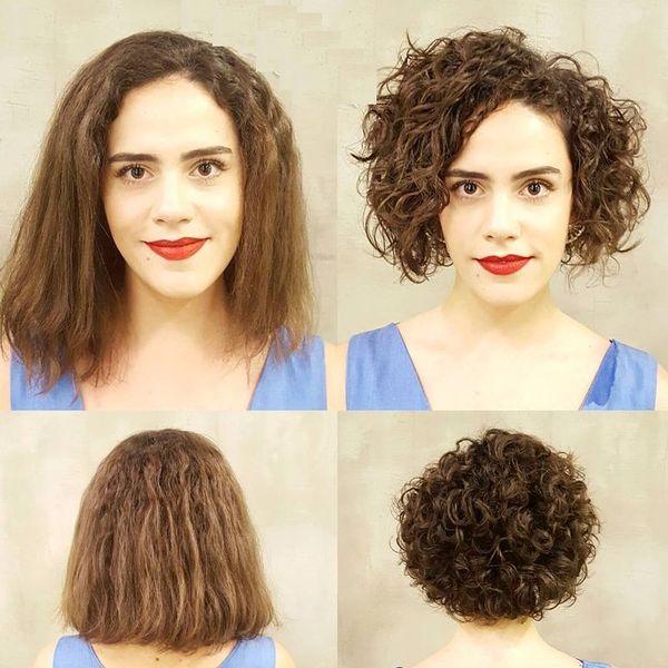Как подстричь вьющиеся волосы