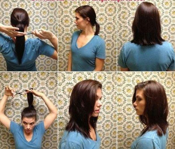 Как подстричь самостоятельно каскад
