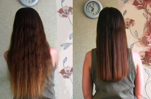 Как самой себе красиво подстричь волосы сзади