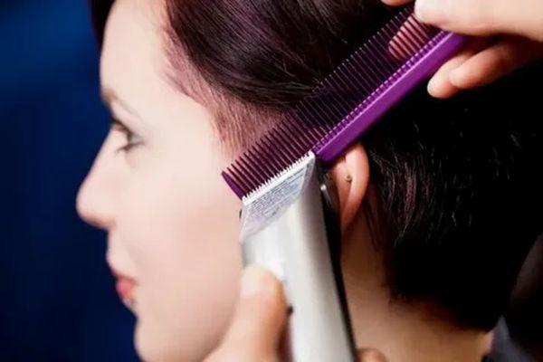 Как самой себе подстричь волосы машинкой