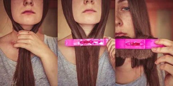 Как самой себе подстричь длинные волосы с помощью ножниц