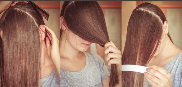 Как самостоятельно подстричь себе кончики волос