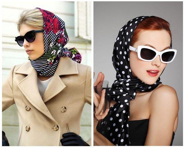 По-голливудски платок на голову
