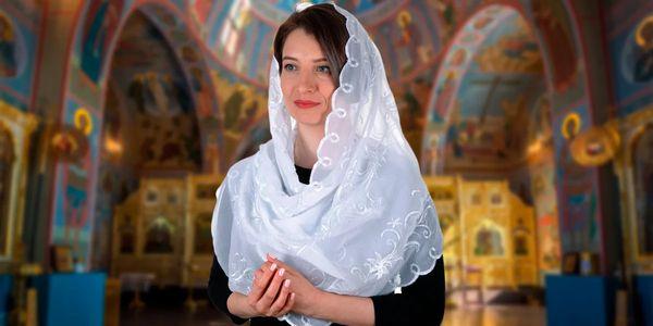 платок для похода в церковь