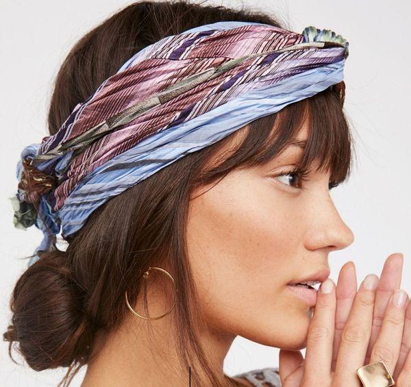 платок на голову В греческом стиле