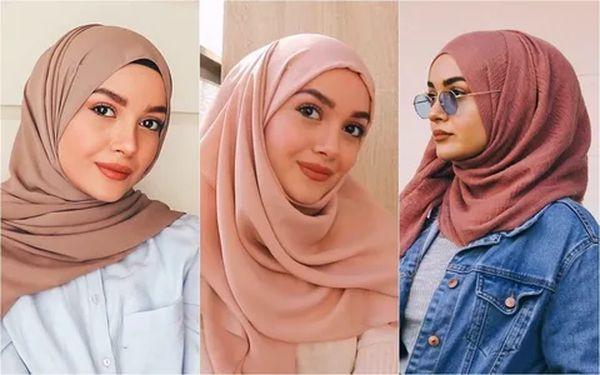 платок на голову По-мусульмански