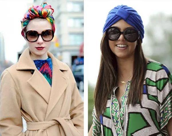 с чем носить платок на голову